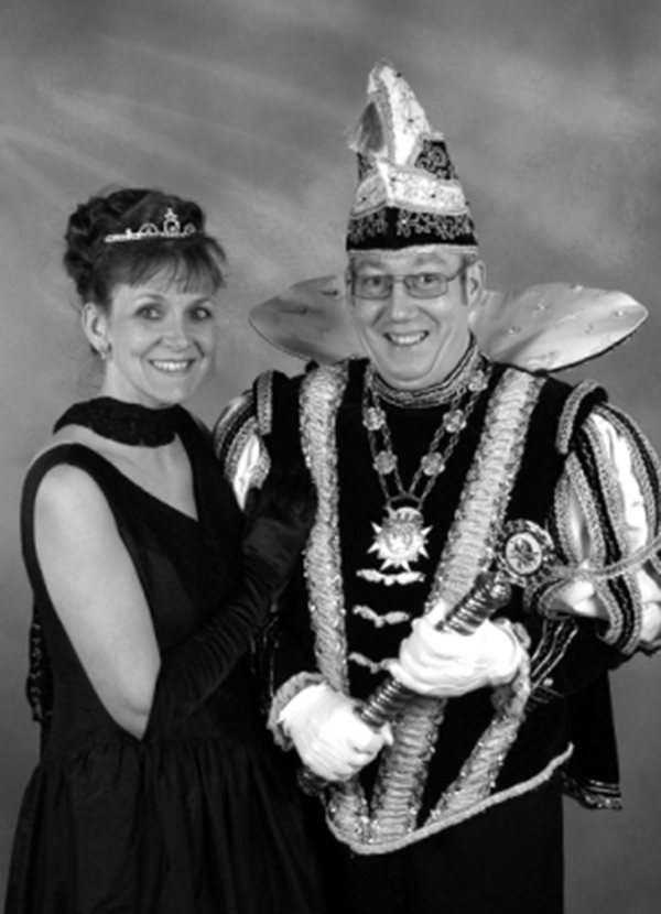 PRINS RICHARD 2e & PRINSES GERRIE